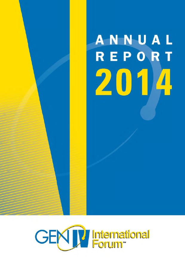 Generation IV International Forum (GIF) 2014 Annual Report
