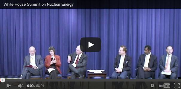 NEA at the White House Summit on Nuclear Energy