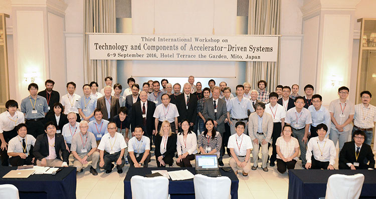 International Workshop on Technology and Components for Accelerator-driven Systems (TCADS-3), September 2016