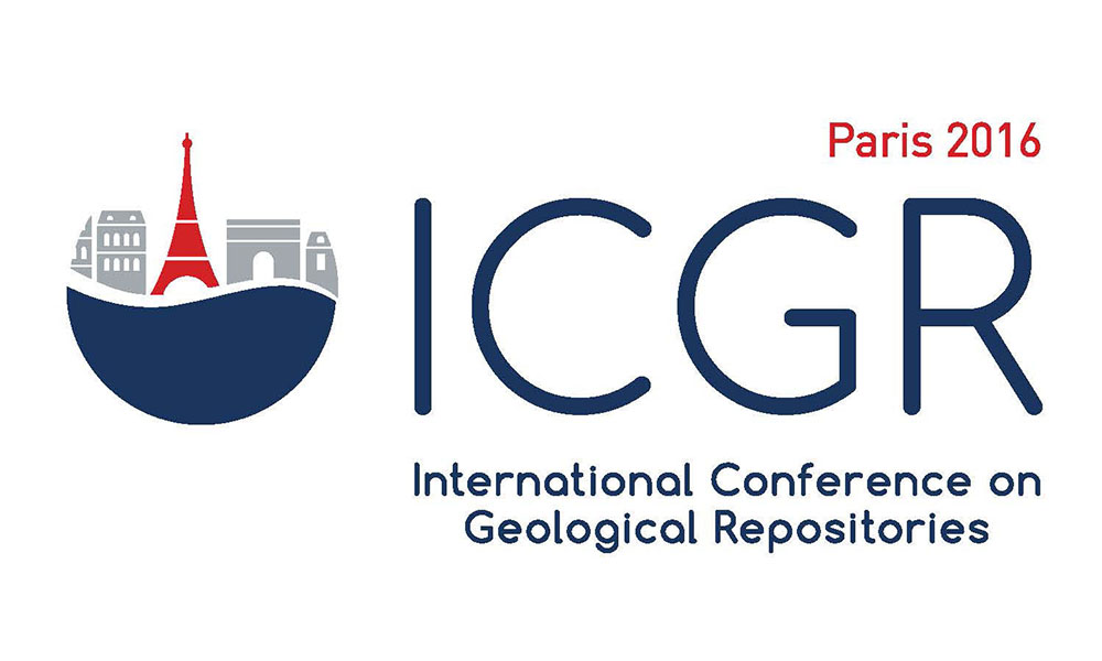 International Conference on Geological Repositories (ICGR), 6-9 December 2016, Paris, France