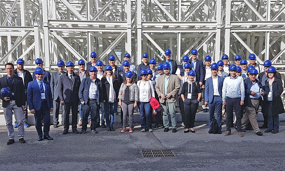 NEA Working Party on Decommissioning and Dismantling (WPDD) meeting and visit to the Latina nuclear power plant which is under decommissioning, October 2016