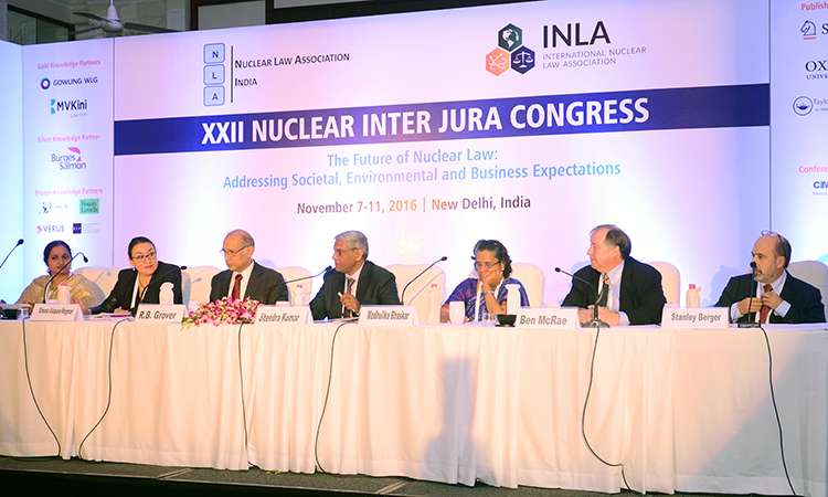 NEA participates in the International Nuclear Law Association Congress in Indi, November 2016