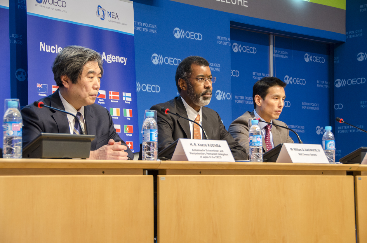 International launch of the new NEA report on the Fukushima Daiichi Accident, February 2016