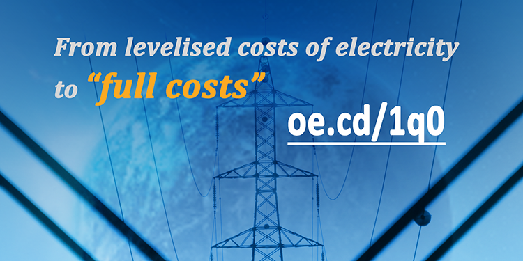 Assessing the full costs of electricity