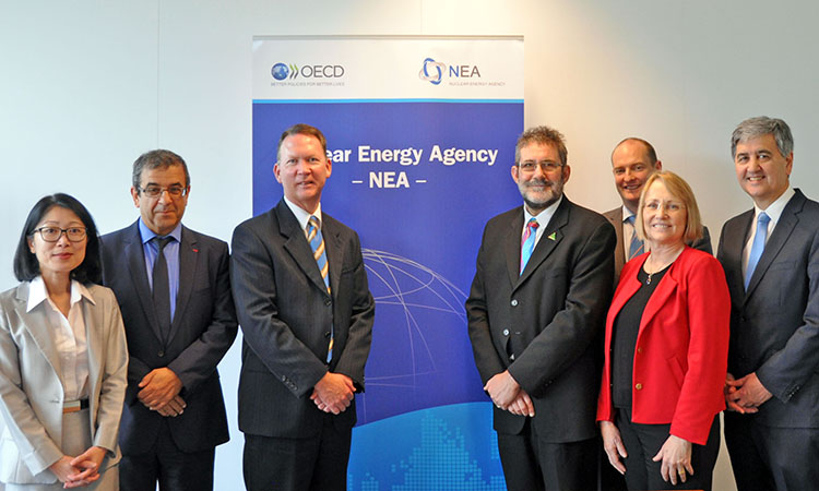 Committee of the South Australian Parliament visits the NEA