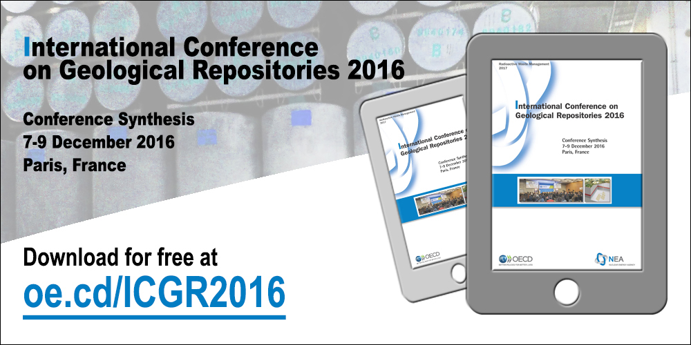International Conference on Geological Repositories 2016, Conference Synthesis