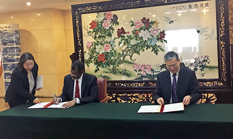 NEA and China's National Energy Administration sign MOU to strengthen co-operation