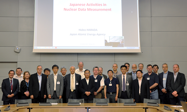 NEA Working Party on International Nuclear Data Evaluation Co-operation (WPEC) meetings, May 2017