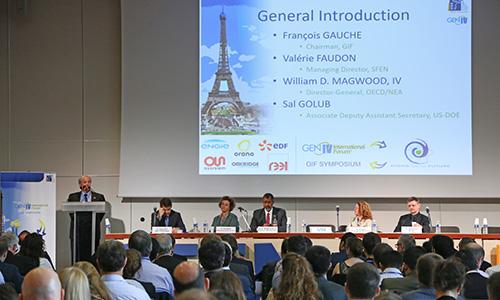 Generation IV International Forum (GIF) Symposium, October 2018