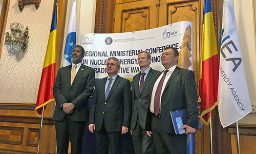 NEA regional ministerial meeting in Bucharest, Romania, October 2018