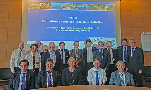NEA Working Group on the Safety of Advanced Reactors (WGSAR) meeting, October 2018