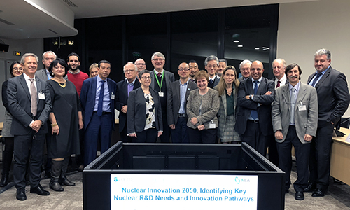 Nuclear Innovation 2050 (NI2050) Advisory Panel meeting, November 2018