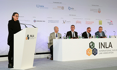 NEA participates in the International Nuclear Law Association Congress, November 2018