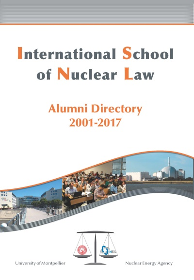 NEA International School of Nuclear Law (ISNL) Alumni Directory