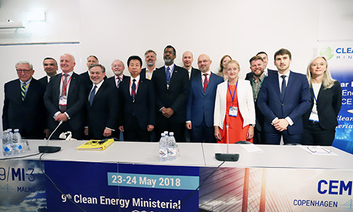 Nuclear Innovation: Clean Energy Future (NICE Future) launch at the Clean Energy Ministerial (CEM) in Copenhagen, Denmark, May 2018
