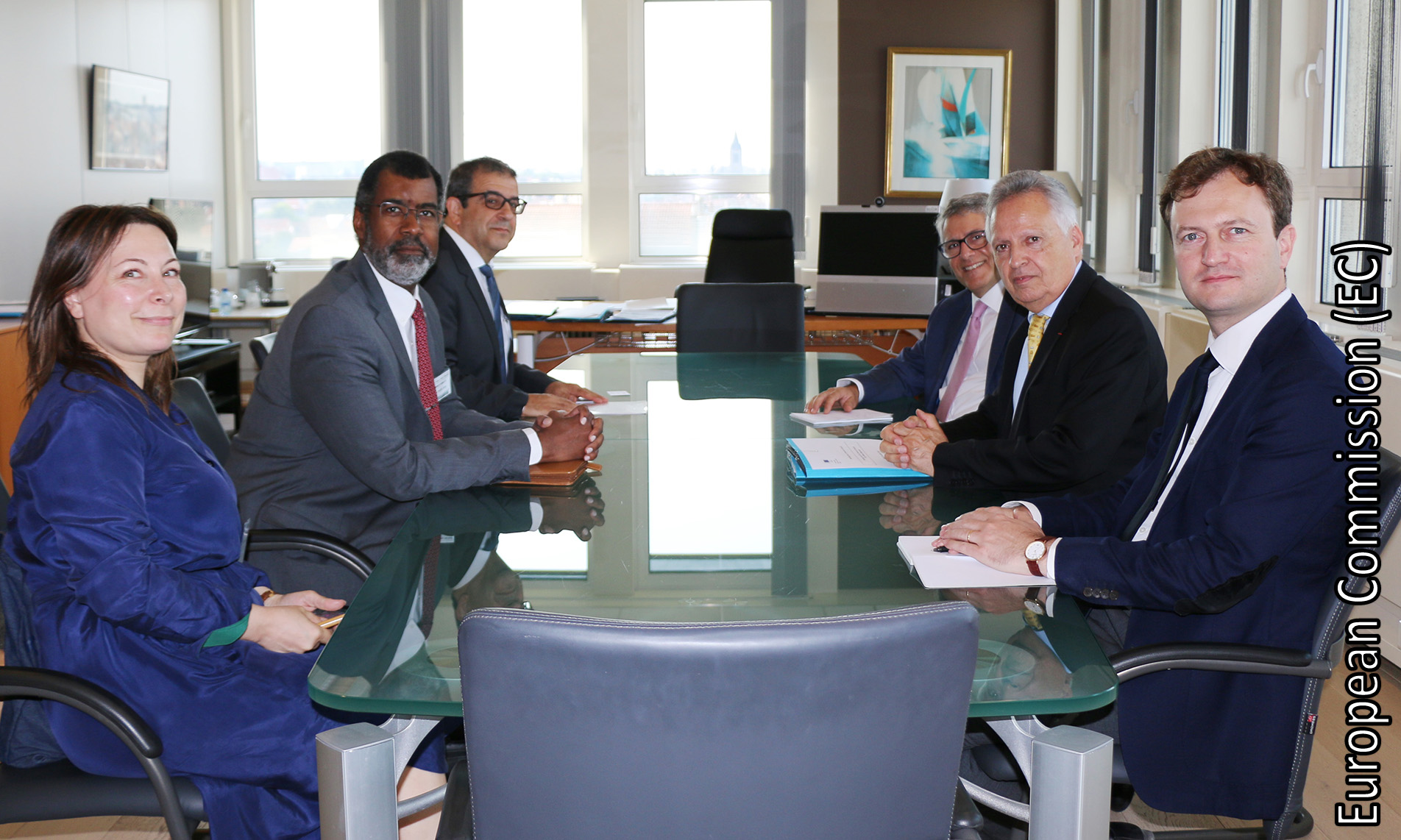 NEA Director-General William D. Magwood, IV, met with the European Commission Director-General Dominique Ristori, 24 July 2018