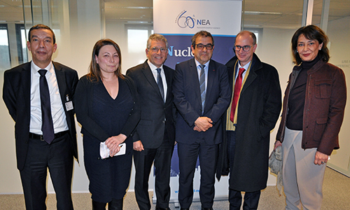 The European Commission (EC) visits the NEA, January 2019
