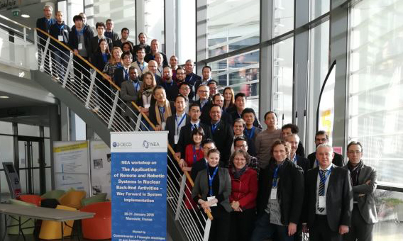 NEA workshop on the application of remote and robotic systems in nuclear back-end activities, January 2019
