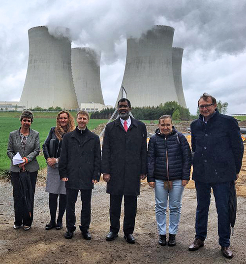 NEA DG participates in the European Nuclear Energy Forum (ENEF) in Prague and visits the Temelin Nuclear Power Station, April 2019