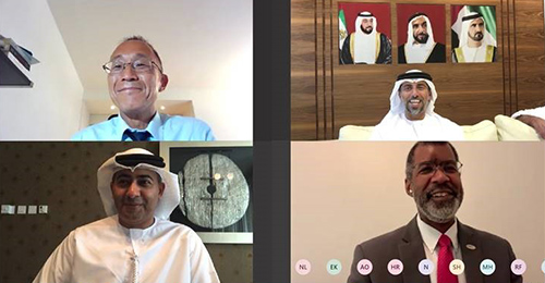 NEA virtual mission to the United Arab Emirates (UAE), August 2020