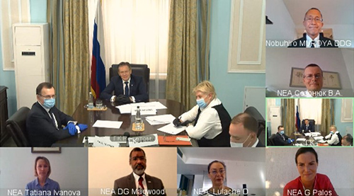 NEA virtual mission to the Russian Federation, August 2020