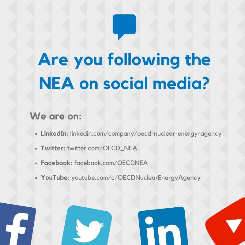 Follow the NEA on social media