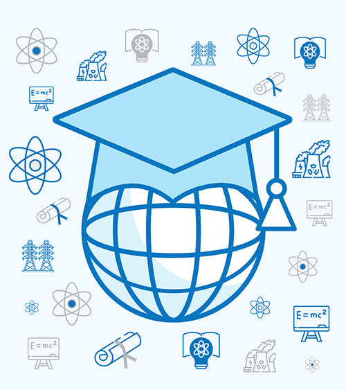 A global nuclear science and engineering commencement