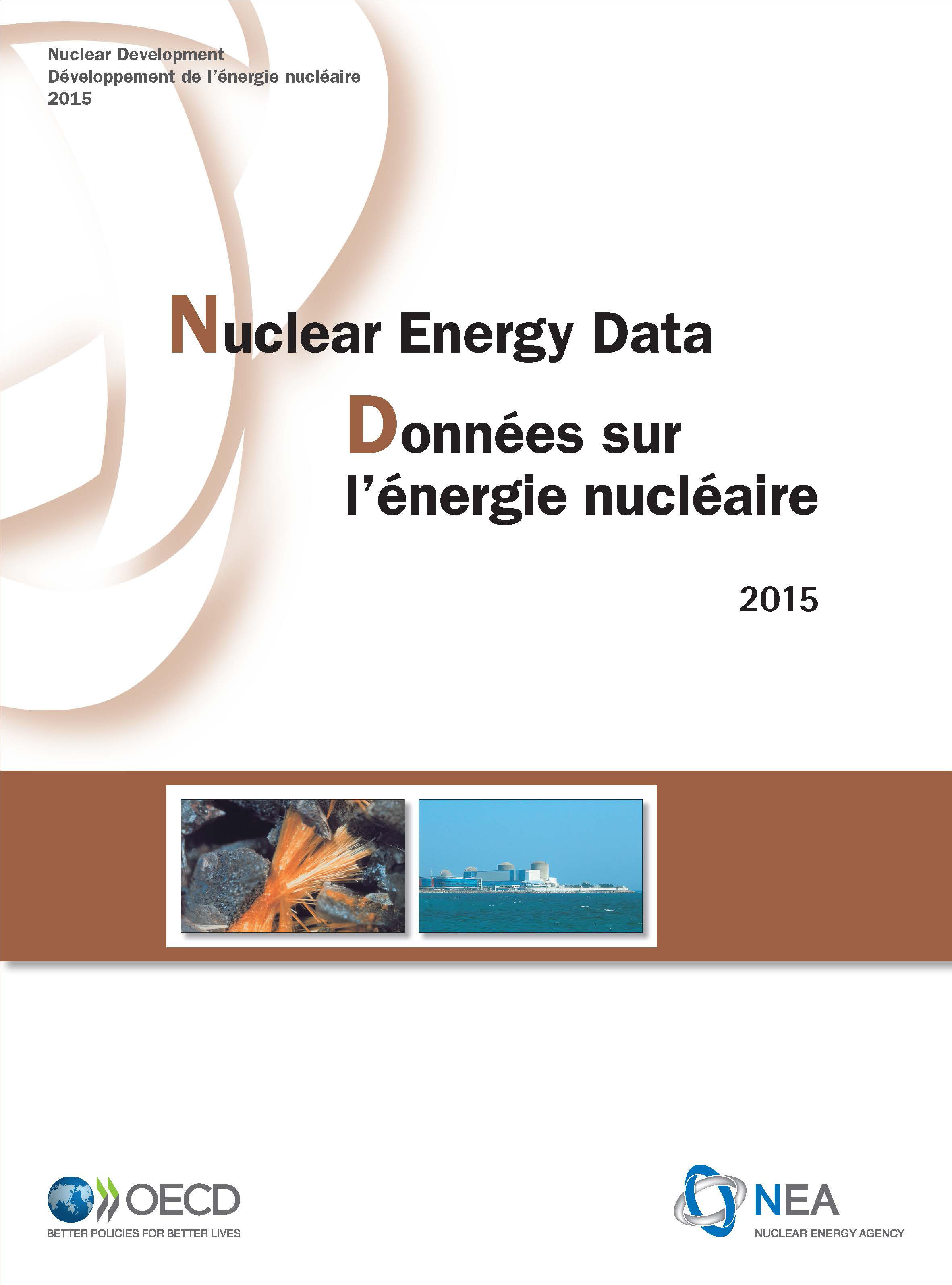 Nuclear Energy Data book cover