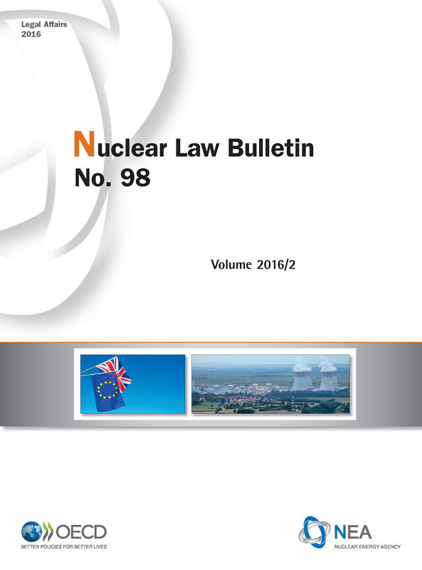 Nuclear Law Bulletin No. 98