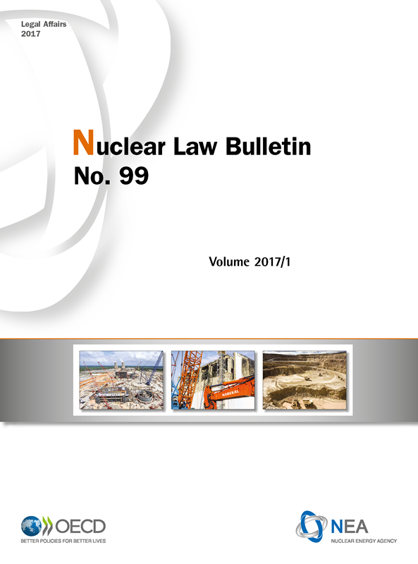 Nuclear Law Bulletin No. 99