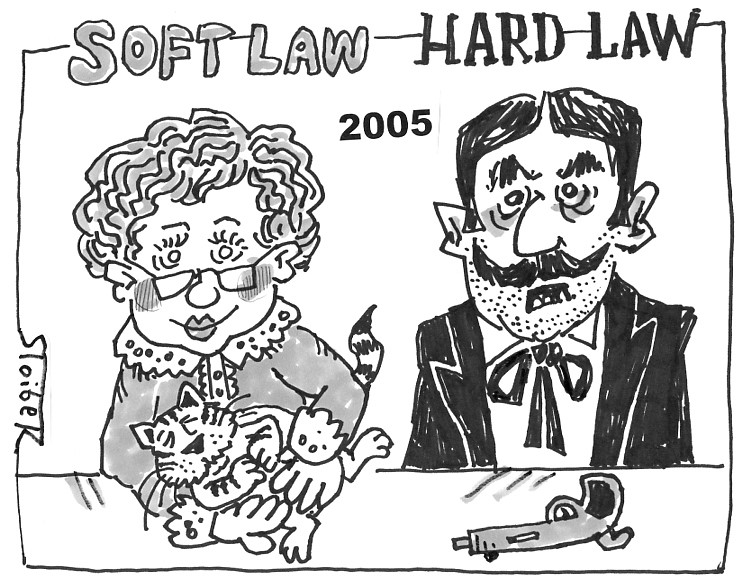 ISNL cartoon 2005