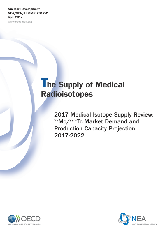 Cover of the 2017 Medical Isotope Supply Review: 99Mo/99mTc Market Demand and Production Capacity Projection 2017-2022