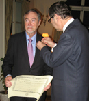 Photo: OECD/NEA Director-General recognised by the Governments of Spain and Japan