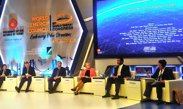 NEA participates in the World Energy Congress
