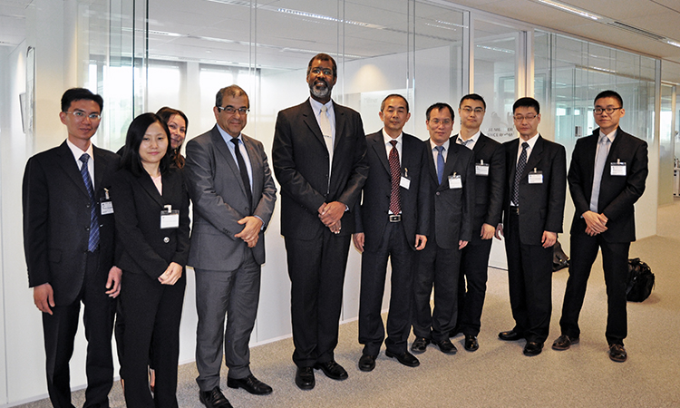 China Atomic Energy Authority visits the NEA to discuss co-operation